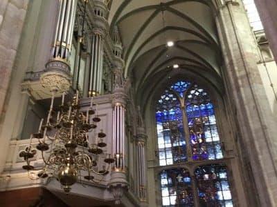 Rondleiding Domkerk zeer geslaagd