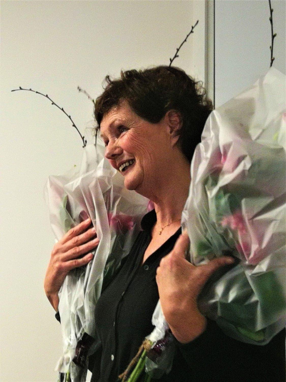 Collega Vera Maas met pensioen