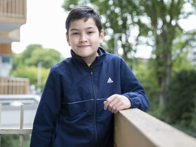 Moeder van Aurelio (10): Mathijs is echt een soort held!