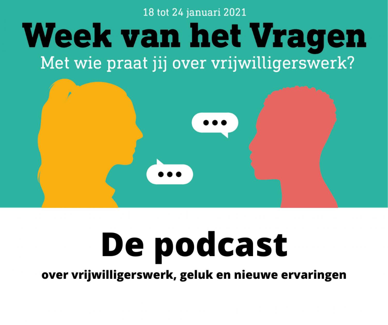 Podcast over de waarde van vrijwilligerswerk