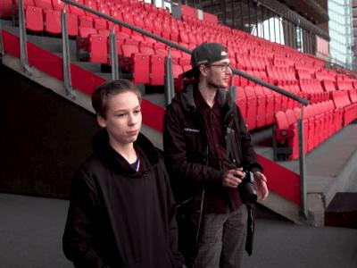 Thijs (14) gaat Stadion Galgenwaard nabouwen
