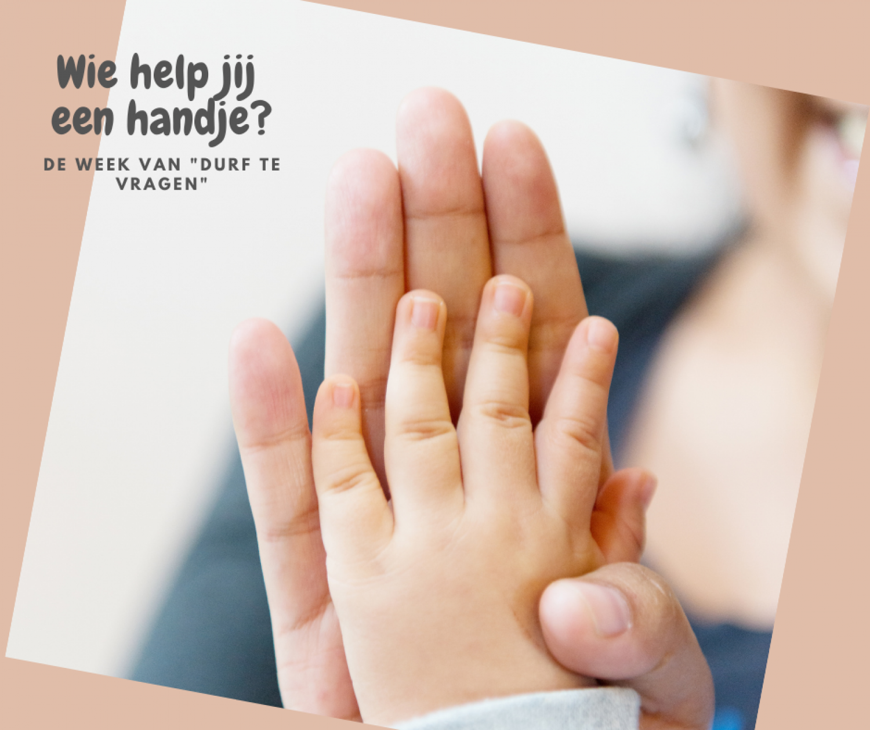 Wie help jij een handje?
